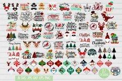 Christmas svg, Santa svg, Red Cardinal, Gnomes svg, Reindeer Product Image 1