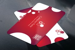 Business Card with Circle touch Visiting Card Product Image 3