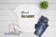 Blessed Grammy png, Sublimation png , Bundle Product Image 2