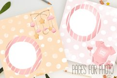 Baby girls paper design for scrapbooking Product Image 5