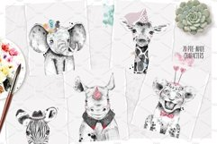 SAFARI BABIES watercolor set Product Image 6