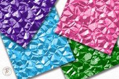 Rock Candy Digital Paper Set Product Image 2