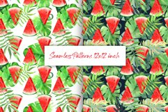 Watermelon tropical patterns Product Image 1