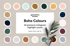 Instagram Highlight Covers Boho Colours Product Image 1