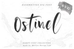 Ostinel SVG Font Product Image 1