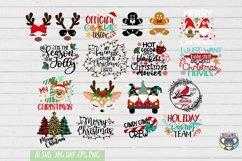 Christmas svg, Santa svg, Red Cardinal, Gnomes svg, Reindeer Product Image 2