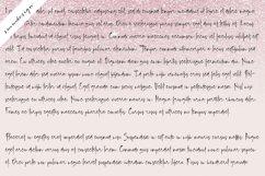 Blush Pink Handwritten Script Font Product Image 3