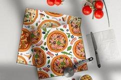PIZZA seamless patter set Product Image 2
