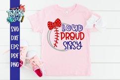 Loud Proud Baseball Softball Sissy SVG Product Image 1
