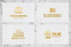 Books & Magazine Logos Bundle Pack Product Image 4
