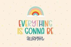 Rainbow Club- A cute handritten font Product Image 3