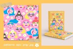 Girls PORTRAITS & patterns set Product Image 3