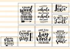 Motivational Quote SVG Cut Files Bundle Product Image 3