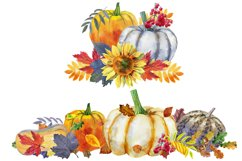 Watercolor Thanksgiving day Product Image 2