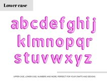 Purple Foil Balloon Letters Numbers & Symbols Clipart Product Image 3