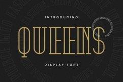 Web Font QUEENS Font Product Image 1
