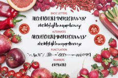 Red tomato. Script font. Product Image 4