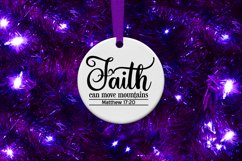 Faith Can Move Mountains Matthew Verse 17, A Scripture SVG Product Image 3