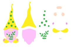 Spring Gnomes SVG. Gnome Cut Files. Product Image 4