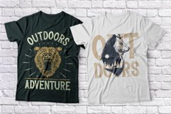 Outdoors Layered Font Product Image 5