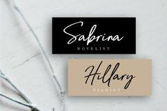 Bellanda Handwritten Brush Font Product Image 2