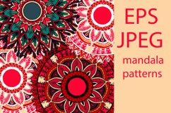 Boho flowers - mandala patterns Product Image 1
