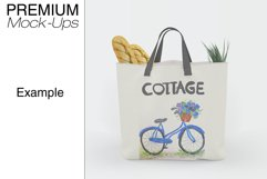 Tote Canvas Bag Mockups Product Image 2