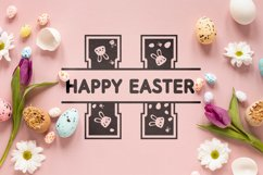 Easter Split Monogram Font Product Image 5