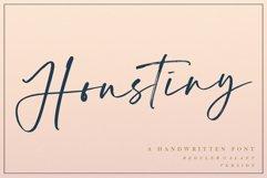 Houstiny - Handwritten Font Product Image 1