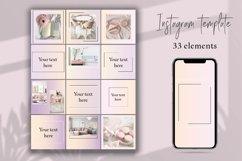 Minimal instagram template.Instagram Feed Product Image 1