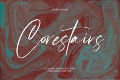 Corestairs Casual Signature Font Product Image 1