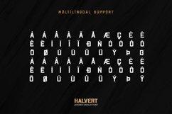 Halvert-Layered Display Font Product Image 5