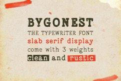 Bygonest - Old Typewriter Font Product Image 6