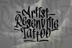 Web Font Tag1 Graffiti Font Product Image 4