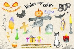 Happy Halloween Watercolor Set Product Image 6