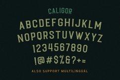 CALIGOR - Display Typeface Product Image 4