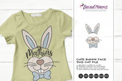 Easter Bunny SVG | Bunny Face SVG Cut File Product Image 3