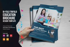Education Bifold Trifold Brochure Product Image 1
