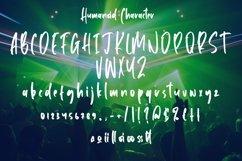 Web Font Humanoid - Cool Handbrushed Font Product Image 5