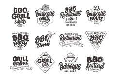 BBQ bundle. Food quotes. Design sublimation Product Image 2