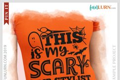 This is My Scary Hair Stylist Costume SVG Cut File Product Image 3