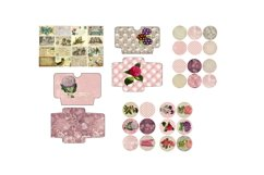 Lavender Pearls Journal Scrapbook Kit, 22 Pages Product Image 2