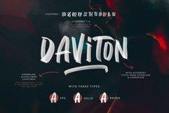 Daviton - SVG Font Product Image 1