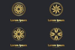 Set of decorative mandala logos Product Image 1