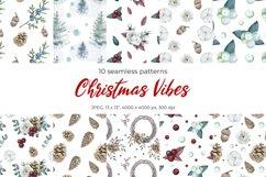 Christmas seamless patterns Product Image 1