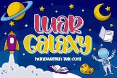 Luar Galaxy - Handwritten fonts Product Image 1