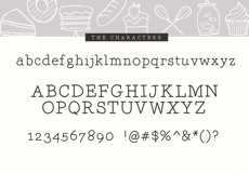 The Bakery - Handwritten Serif and Doodle Font Product Image 6