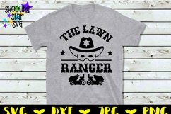 The Lawn Ranger - Lawn Enforcement Officer -Father's Day SVG Product Image 2
