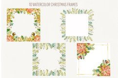 Watercolor Winter frames. Christmas cliparts Product Image 2
