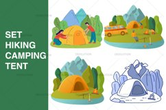 Hiking Camping Tent Product Image 1